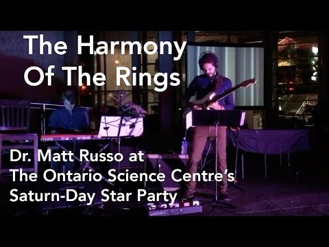Harmony of the Rings: Matt Russo at the Ontario Science Centre's Saturn-Day Star Party