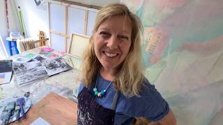 Claire Chandler: Studio Tour and sketchbook demo