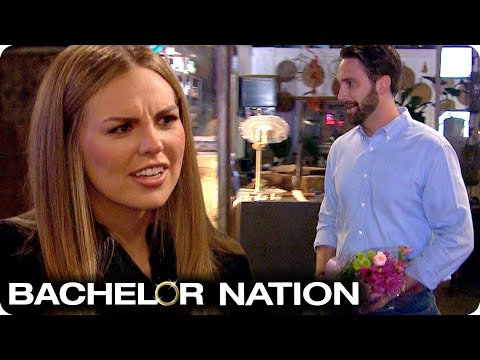 Cam Gatecrashes Date With Flowers For Hannah! 😳 | The Bachelorette US