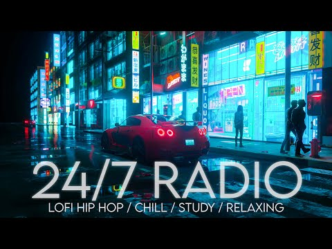 24/7 Lo-fi Hip-hop Radio - Beats to Chill/Relax