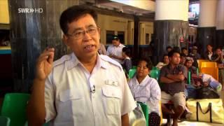 Schienenabenteuer Myanmar, Teil 2 - Von Einbeinfischern, Goldklopfern und Zigarrendrehern - SWR HD