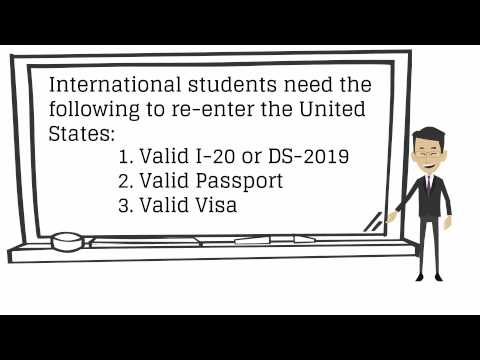 Travel Requirements for International Students