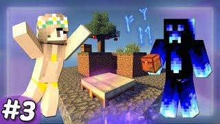 VYLEPŠUJEME A BRÁNÍME OSTROV! - ČAROVNÉ NEBE v Minecraftu! #3 /w DENČAHD