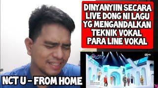 Download lagu [KUPAS] JELAS VOKALNYA | NCT U - FROM HOME | LIVE (Reaction)