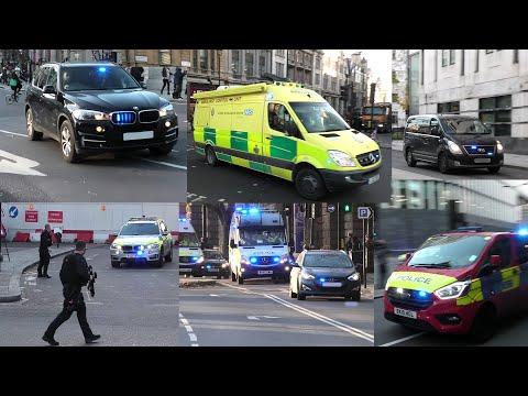 MASSIVE Police response