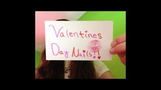 Easy Valentines Day Nails ! Thumbnail