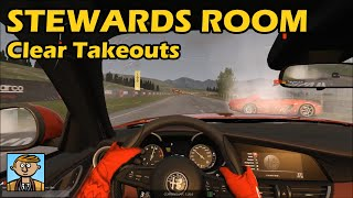 Clear Takeouts - The Stewards Room #6
