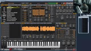 Vengeance Producer Suite - Avenger Teaser: Synthwave 2 Guitar Mode