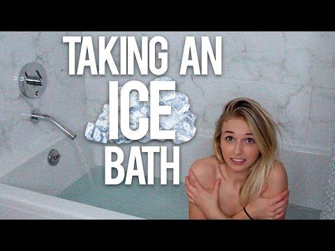 TAKING AN ICE BATH