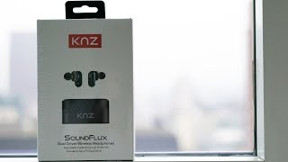 KNZ Soundflux Bluetooth Headphones from Indiegogo Unboxing
