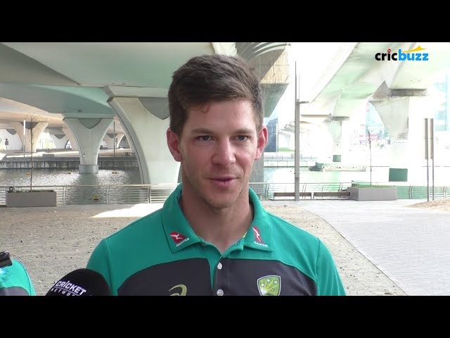 We have 3 debutants for the first Test against Pakistan - Tim Paine