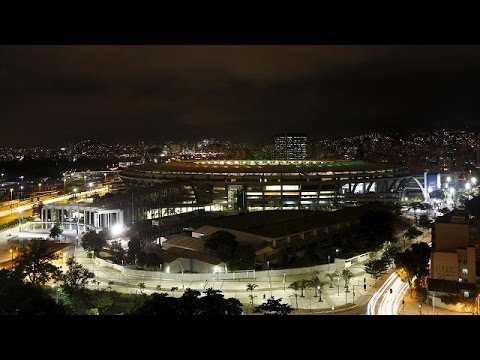 Maracana Stadium holds test games ahead of August Olympics