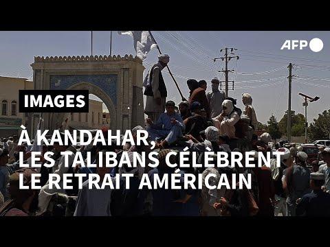 Afghanistan: les talibans célèbrent la défaite américaine à Kandahar | AFP Images