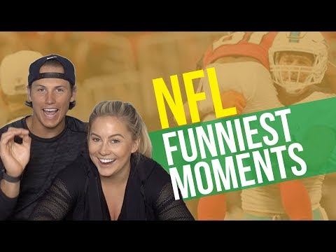 NFL PLAYER REACTS TO NFLS FUNNIEST MOMENTS REACTION! | Shawn Johnson + Andrew East