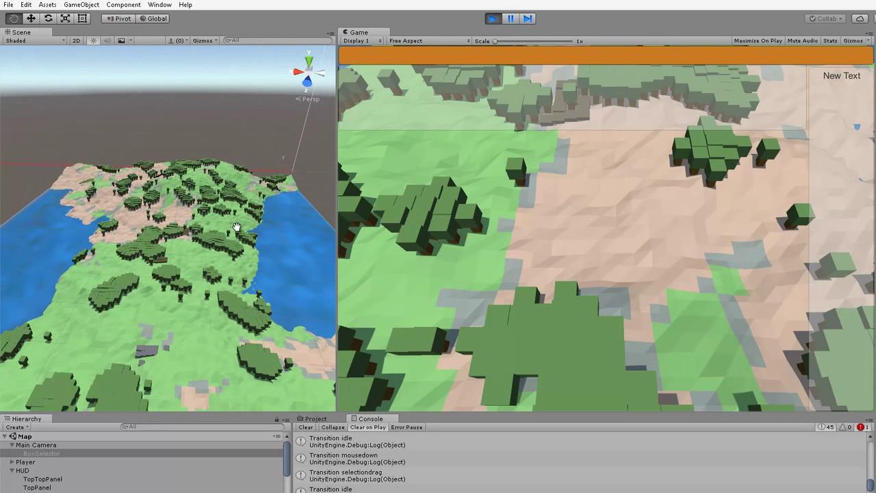 Unity3d 55 generation of pseudo fractal terrain youtube generation of pseudo fractal terrain gumiabroncs Images