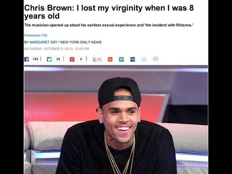 Chris Brown Brags About Losing His Virginity at 8 Years Old
