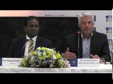 Visit of ICC Chief Executive Officer to Sri Lanka Cricket & ACC