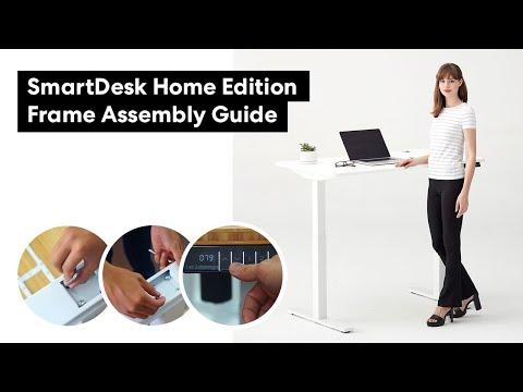 Autonomous SmartDesk 2, Home Edition Frame: Assembly Instruction Guide