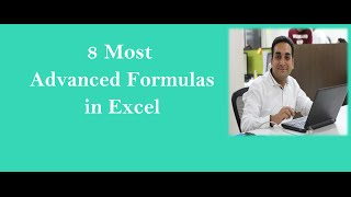 8 Most Advanced Formulas Of Excel