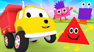 Learn Shapes by Playing Monster Shapes! - Learn with Ethan the Dump Truck 👶 Educational Cartoon