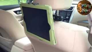 Car Tablet Headrest Mount for iPad, Samsung and others, by Infernal Innovations