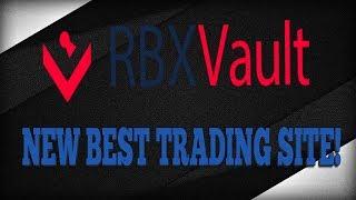 THE NEW RBX. ROCKS? RBX VAULT! (Next big roblox trading site)