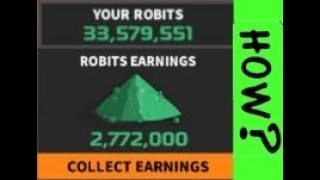 RoboCraft --2min How to get 30mil Robits.