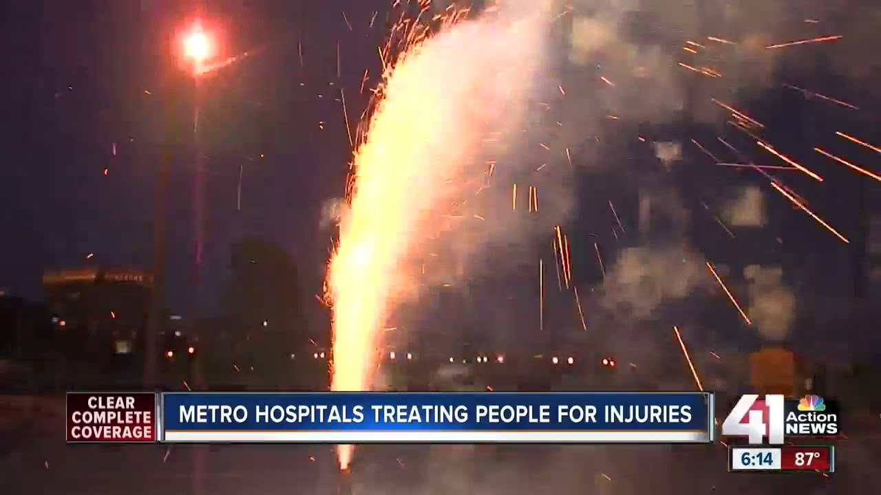 These are the people going to hospitals for fireworks injuries