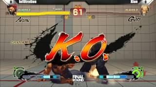 SSF4 AE2012 Top 8 Infiltration vs DM Xian - Final Round XVI Tournament