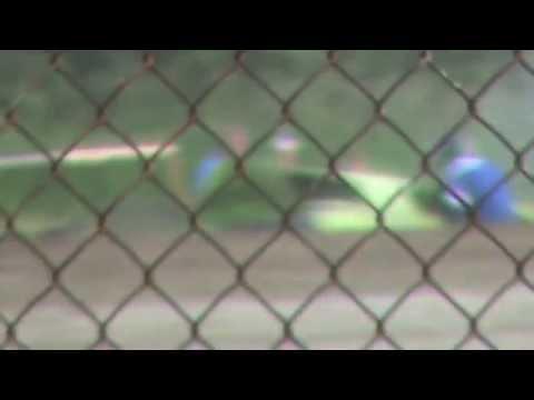 Josh Betts flip at Montpelier Motor Speedway on 6/8/13.