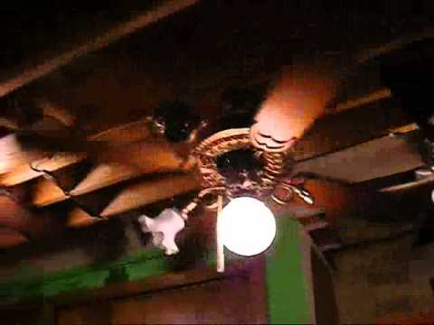 Copper Casablanca Victorian Ceiling Fan Youtube