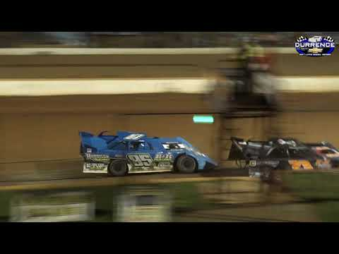 Durrence Layne Dirt Late Model Series at Smoky Mountain Speedway 6-29-19 Feature. - dirt track racing video image