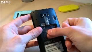 Come inserire microSD dentro Asus ZenFone Selfie