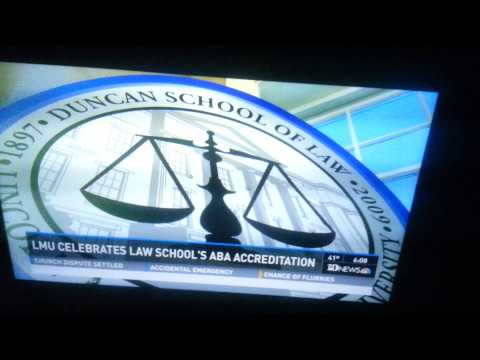 Lincoln Memorial University- Duncan School of Law Accreditation News Story