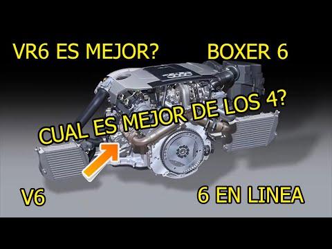 VR6 vs V6 vs 6 en Linea vs Boxer 6 🤯 Diferencias entre motores de 6 cilindros