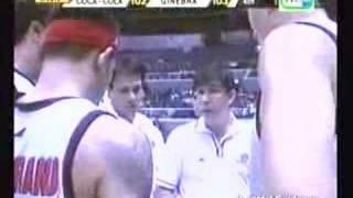 Brgy Ginebra vs Coke 11/19/07 - Caguioa scored 35pts 11/11