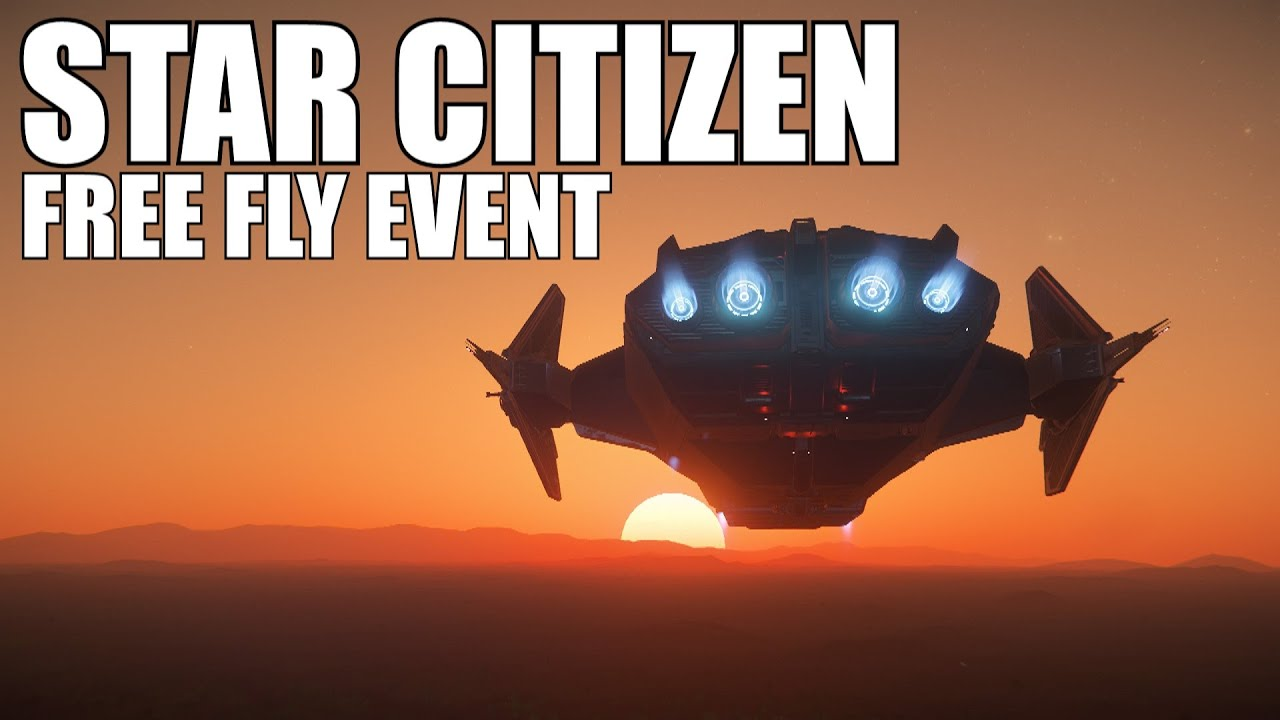 Star Citizen free fly event live stream! gameplay! New to Star Citizen? Ask me questions!