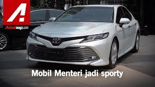 Toyota All New Camry 2019 First Impression Review by AutonetMagz