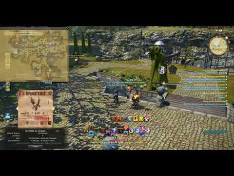 FINAL FANTASY 14 - Chasse Hunting ~ Oeil Flottant  Floating Eye