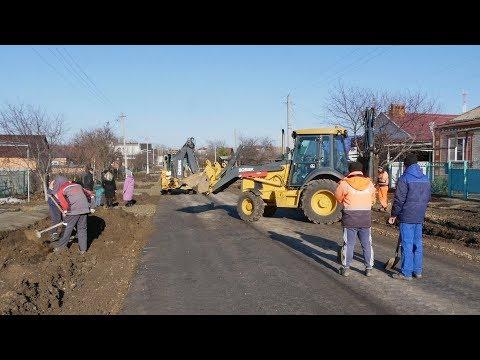 Кореновск. Завершается ремонт дороги на улице Траншейной.