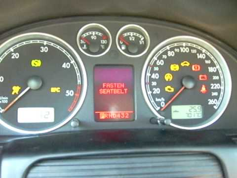 B5 5 Vw Passat Fis Cluster Upgrade Youtube