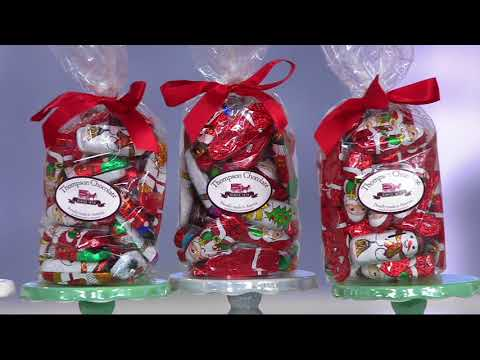 Thompson Chocolate (5) 12 oz. Chocolates with Gift Bags on QVC