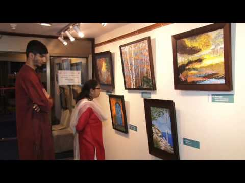 Reeta Desai Painting Exhibition Pune March 2015