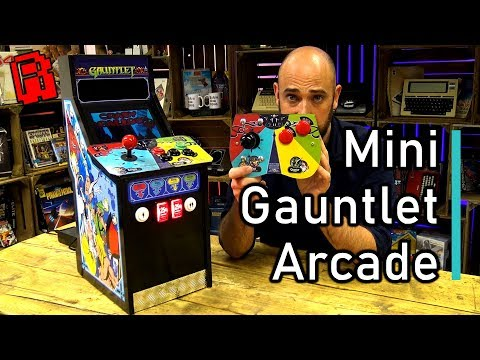 Making a Mini Gauntlet Arcade Cabinet - 8 years in the making!