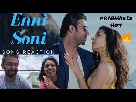 Download Lagu  Enni Soni Song Reaction    Saaho   Guru Randhawa   Hindi   Prabhas Mp3 Free