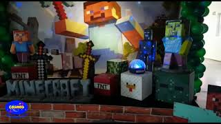 Cosmos Decorações - Minecraft
