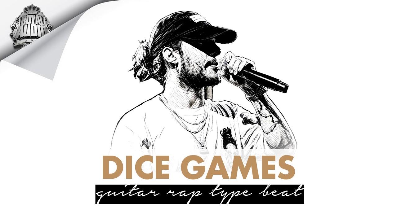 "(FREE) Deep Guitar Type Beat ""DICE GAMES""   Free Russ Type Beat Rap Instrumental"