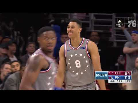 Zhaire Smith | Highlights vs Chicago Bulls (4.10.19)