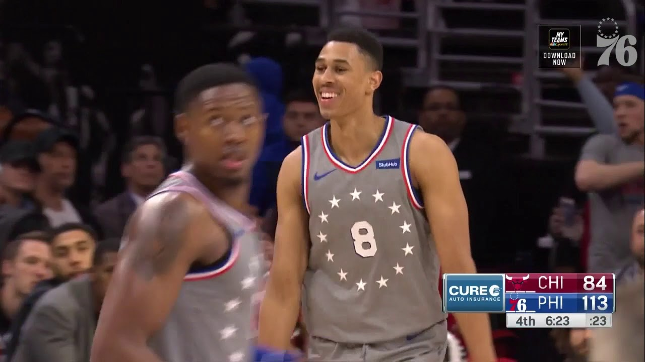 size 40 f2c7e 2ff40 Zhaire Smith | Highlights vs Chicago Bulls (4.10.19)