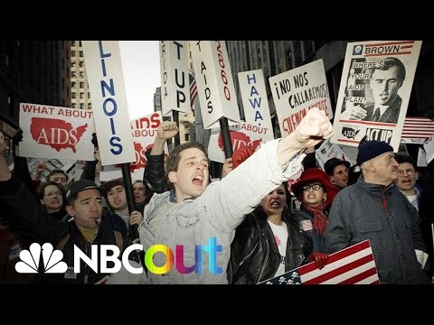 Radical AIDS Activist Group ACT UP | Flashback | NBC Out